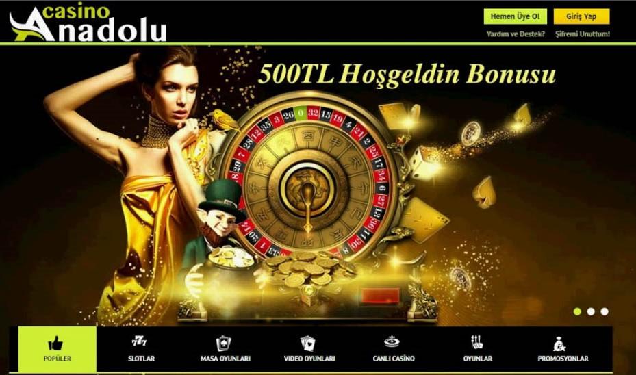 anadolu casino uyelik islemleri nasil yapilir